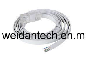 Super Slim CAT6 UTP Flat Cable pictures & photos
