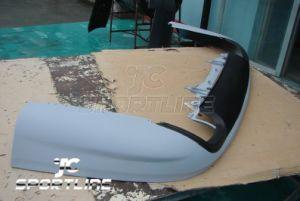 PU Rear Bumper Lip Spoiler for Passat Rline