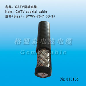 Professional Production in CATV Coaxial Cable (010135) pictures & photos