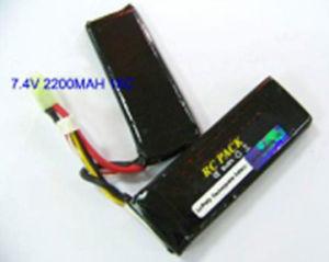 BB Gun Polymer Li Ion Rechargeable Battery 7.4V 2200mAh 16C