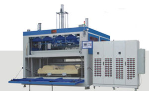 PVC Door Skin Forming Machine