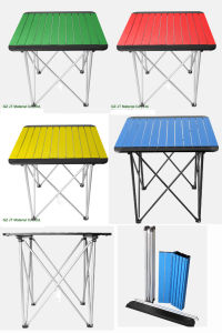 Aluminium Folding Table, Outdoor Table, Folding Table pictures & photos