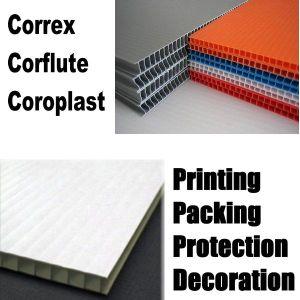 Correx / Correx Sheet / Correx Board / Corex / Corex Sheeting