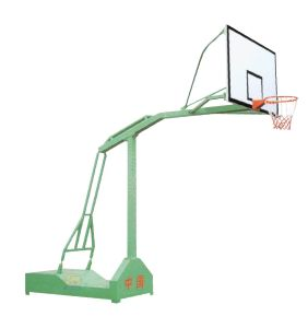 Outdoor Gym-Fixing Single-Arm Backetball Stand (JM-1009) pictures & photos