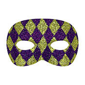 Custom Party Mask, Mask Glitter Mardi Gras Masks