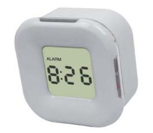 Solid LCD Clock With Four Sides and Colors Showing (SLT-50028)