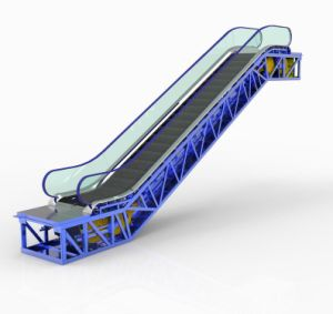 Hot Selling V3F Passenger Escalator (GRACES Series)