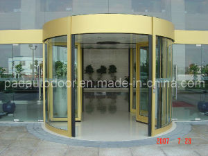 2-Wing Automatic Revolving Door (without display case) pictures & photos