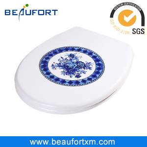 Traditional Elegant Blue and White Pattern UF Toilet Furniture