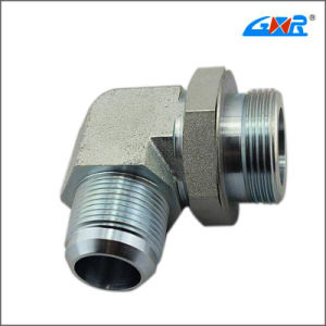 90 Degree Elbow Jic Male 74 Degree Cone/ Metric Male Adjustable Stud End L-Series Adapter (XC-1JH9-OG) pictures & photos