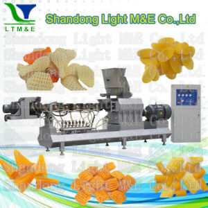 Hot Sale High Quality Automatic Fried Snack Pellet Extruder pictures & photos