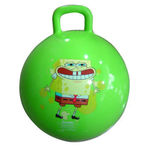 Hopper Ball with Rectangle Handle for Kids (B05302) pictures & photos