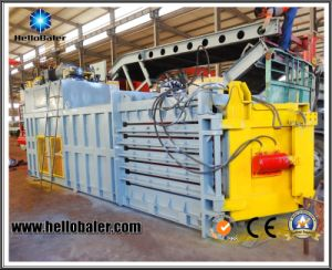High Quality Profitable Horizontal Baler for Waste Plastic Recycling pictures & photos