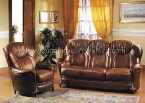 Leather Sofa (10114)
