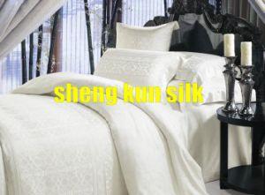 Jacquard Silk Bedding Set (SKSY159)