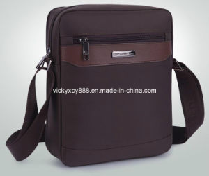 Men Waterproof Business Travel Single Shoulder iPad Leisure Bag (CY1908) pictures & photos