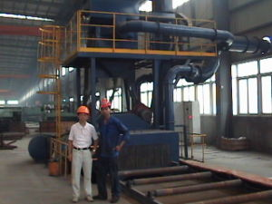Section Steel Cleaning Equipment