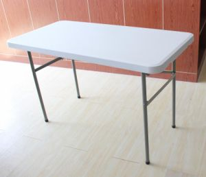 4ft Coffee Dining Folding Table (SY-122C) pictures & photos