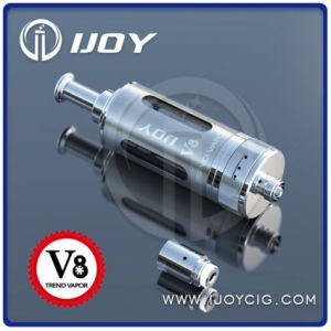 2014 Newest DCT&Bdc Changeable Drip Tip Airflow Adjustable Ijoy V8 Clearomizer