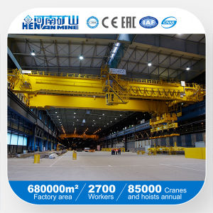 5t 10t 20t 30t 40t 50t Rail Mounted Double Girder Overhead Crane pictures & photos