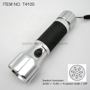 LED Flashlight (T4100) pictures & photos