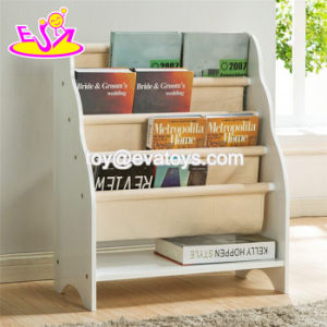 Customize Modern Rack Storage Wooden Kids Wall Bookshelf with 4 Tiers W08c250 pictures & photos