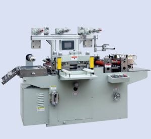Mq-320bii One Side Tape / Non-Adhesive Label Die Cutting Machine pictures & photos