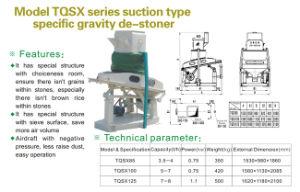 Rice De Stoner Machines (TQSX suction type) pictures & photos
