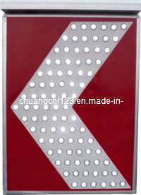 Solar Traffic Sign, LED Light