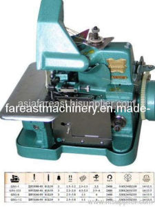 Medium-Speed Overlock Sewing Machine (GN113D) pictures & photos
