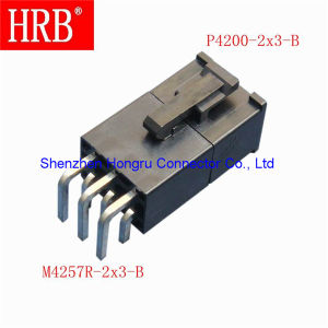 Wire to Board Brass Terminal Pin Vertical Header pictures & photos