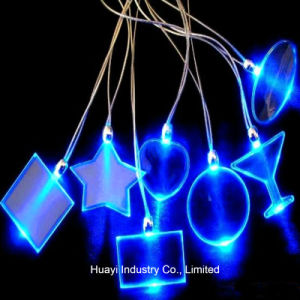 Personalized LED Light up Necklaces pictures & photos