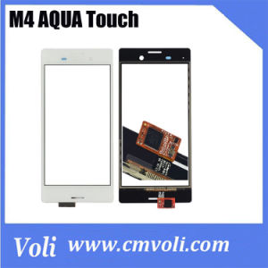 White Cell Phone Touch Screen for Sony Xperia M4 Aqua pictures & photos