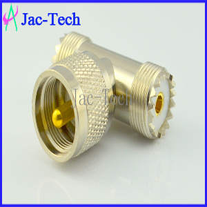 UHF Male to UHF Female RF Coaxial Connector