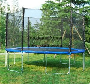 16ft Professional Outdoor Trampoline with Safety Net