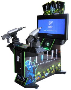 Game Machines Aliens 42′′ Shooting Game Machine pictures & photos