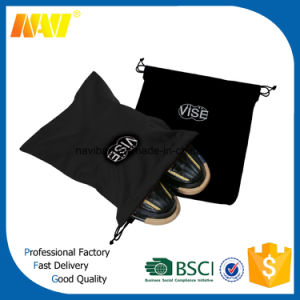 High Quality Promotion High Heal Velvet Drawstring Shoe Bag pictures & photos