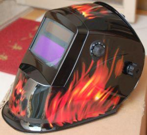 Auto-Darkening Welding Helmet Li-Mi & Solar Combination (S8005) pictures & photos