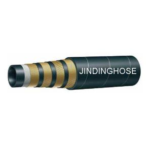 Four Wire Rubber Hydraulic Hose (DIN EN856 4SP)
