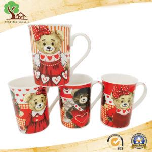 Custom 10 Oz Straight Decal Ceramic Mug pictures & photos