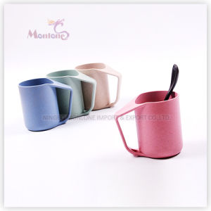 New Design Eco-Friendly Degradable Wheat Straw Teeth Brushing Cup pictures & photos