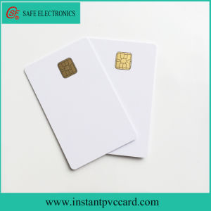 Two Sides Printable Contact Sle4428 Chip IC Card pictures & photos