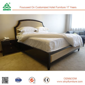 Free CAD and 3D Design Ebony Hotel Bedroom Furniture pictures & photos