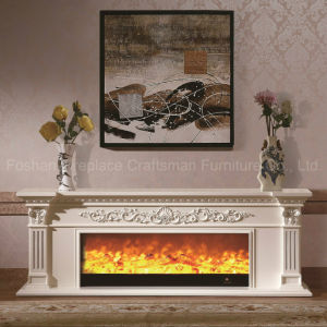 European Wood Home Furniture TV Stand Heater Electric Fireplace (328S) pictures & photos