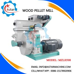Machine Make Wood Pellets From Oak Wood pictures & photos