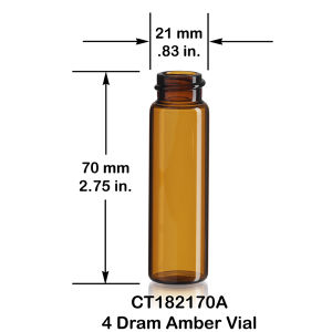 10ml Empty Tubular Amber Glass Dropper Bottle pictures & photos