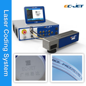 Non Contact Fiber Laser Printer for Expiry Date Printing (EC-Laser) pictures & photos