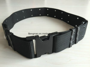 Black Military Belt with Eyelets pictures & photos