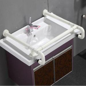 Anti Silp Nylon Lavabo Grab Rails Bathroom Armrest For Elderly