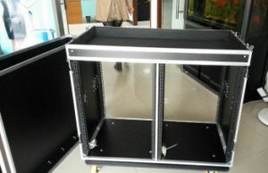 PRO AMP Mounted Rack with Duty Heavy Casters